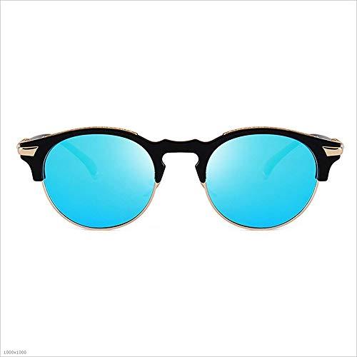 de Lunettes de UV Cadre Anti C4 Protection C1 Soleil Semi Haute rétro Couleur sans Lunettes de qualité Flyci Onq4Ugvwg