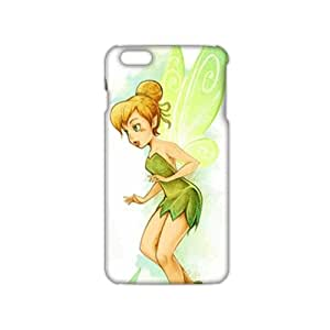 Slim Thin Green butterfly girl Phone Case for iPhone 6