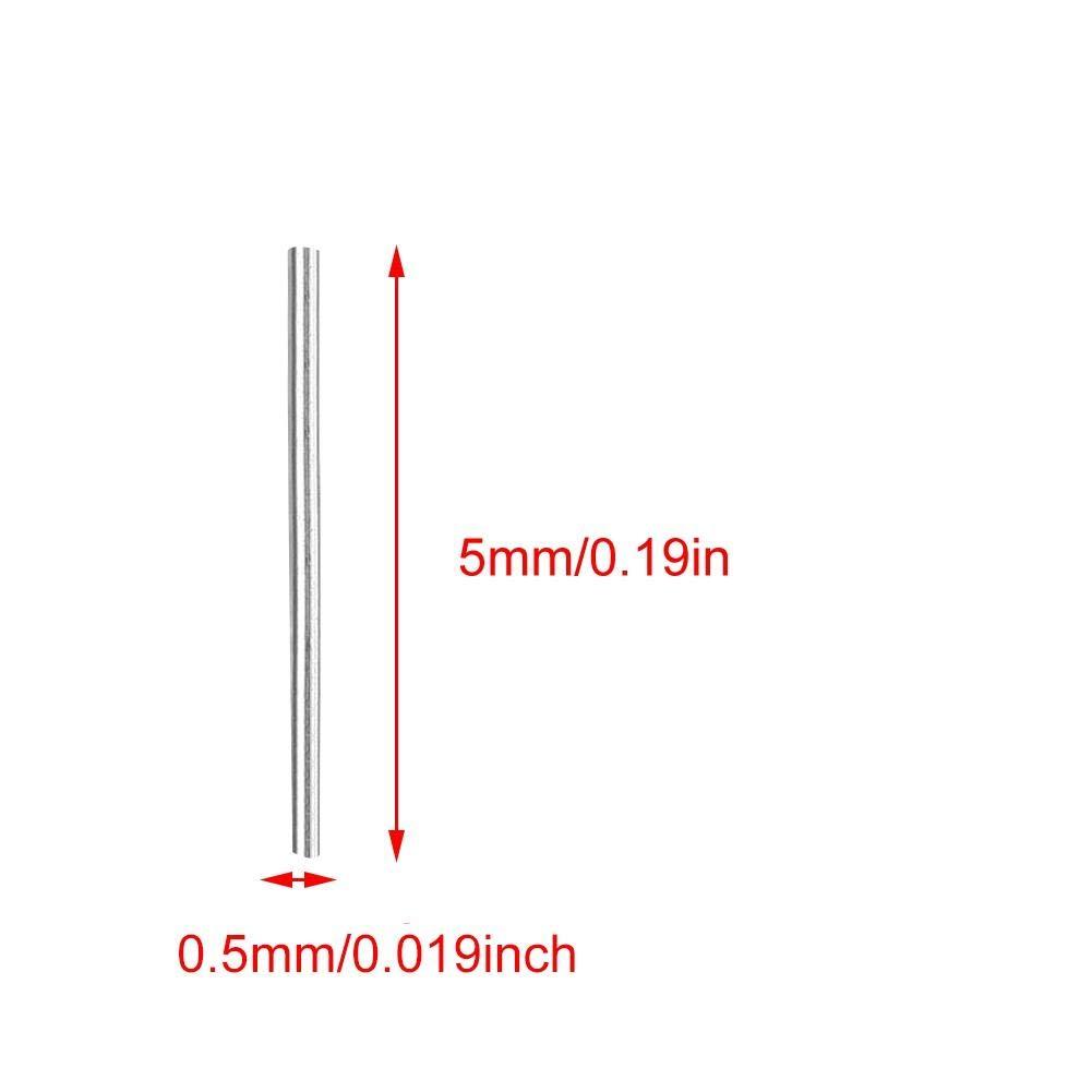 Pin di lucidatura da 0,5 mm Perno di finitura per lucidatori di gioielli Mag con chiave magnetica