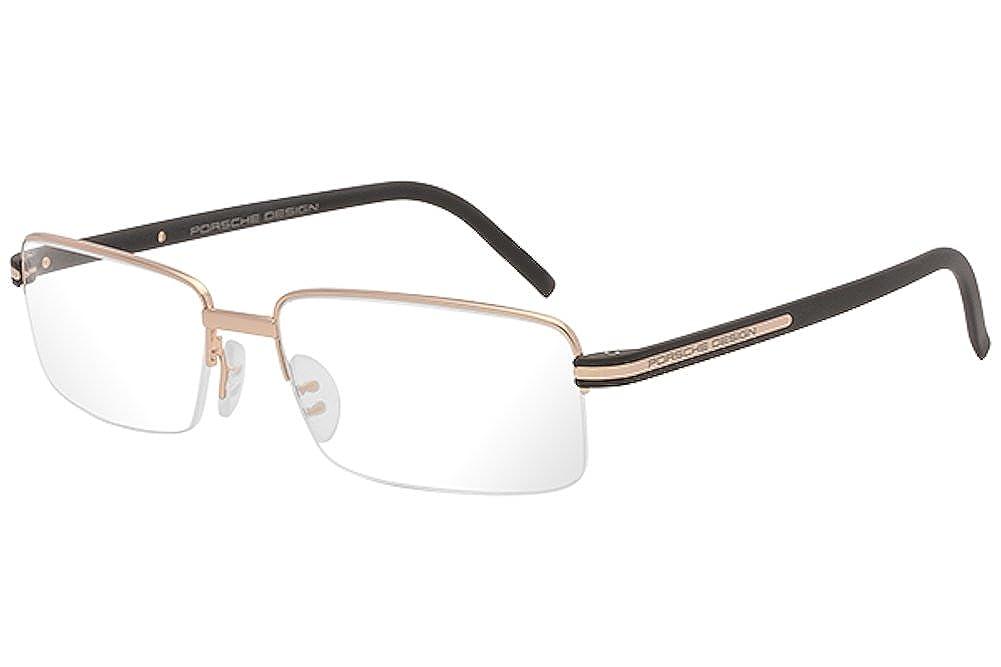 Porsche Design Eyeglasses P8216 P8216 Half Rim Optical Frame 56MM