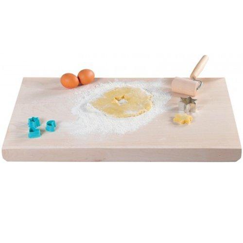 Kesper 68124 Baking And Craft Board 21.65'' x 14.17'' x 0.47'' Of Beech Wood, Brown