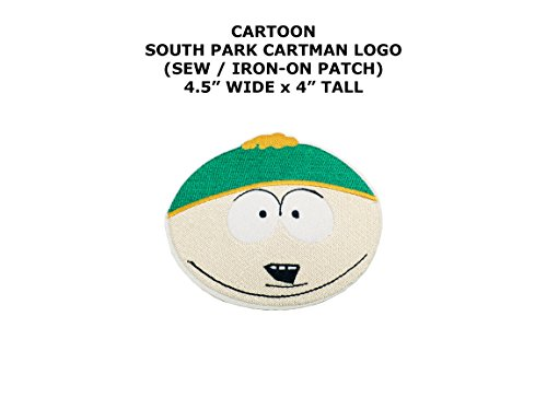 South Park Cartman Cartoon DIY Embroidered Sew or Iron-on Applique Patch Outlander Gear - South Park Superhero Costumes