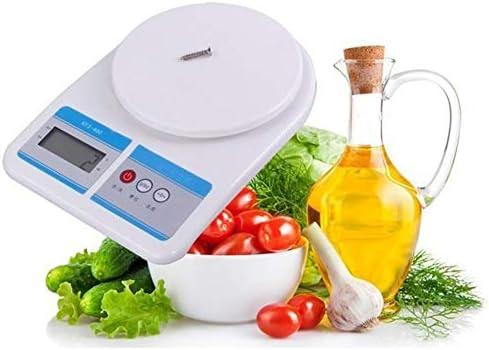 ZNND Preciso Bilance digitali, Hanging elettronico Bilance da Cucina, slittata Cibo Bilancia da Forno (Size : 5kg/1g)