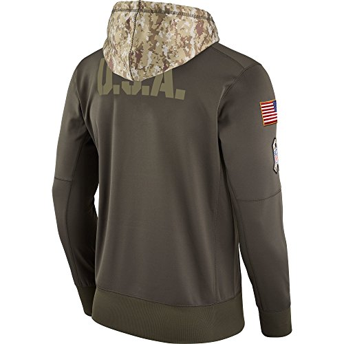Amazon.com   SAN Francisco 49ers 2017 NFL Salute to Service Men s STS Therma  Hoody (XX-Large)   Sports   Outdoors 127a85503