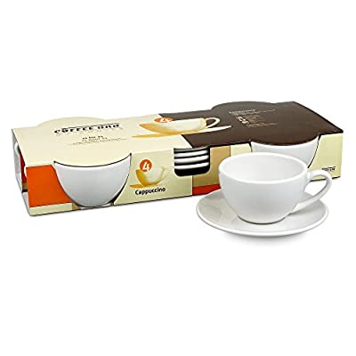 Konitz Coffee Bar Cappuccino Cups and Saucers