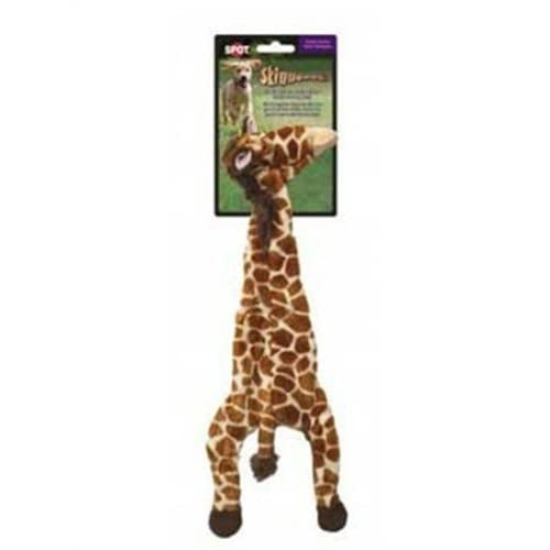 Ethical 5706 Skinneeez Giraffe Stuffing-Less Dog Toy, 14-Inch
