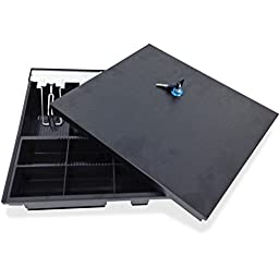 Cash Drawer Tray Insert with Locking Lid