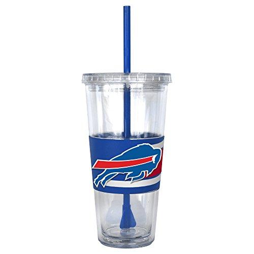 NFL Buffalo Bills Hype Straw Tumbler, 22-ounce - Buffalo Bills Tumbler