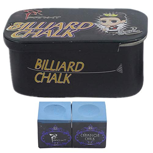 (ZXH Billard Chalk-Green or Blue Billiard Pool Cue Chalk Accessory for Pool Cues and Snooker (Color : C))