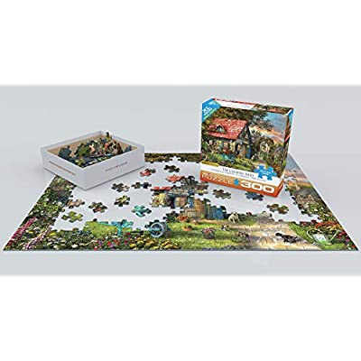 EuroGraphics The Country Shed by Dominic Davison 300-Piece Puzzle (Small Box): Toys & Games