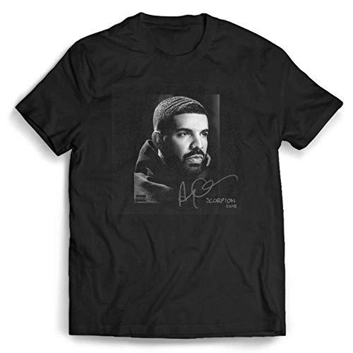 Drake Rapper Shirt Cotton Multicolored Merch Merchandise Tshirt Clothing Collection Stresswear Escolar Casual Men Black
