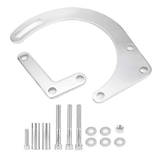 Alternator Bracket Kit,Alternator Bracket Aluminum Accessories Automotive Replacement Alternator Brackets for 181191727179 283 305 327 350 383 400: