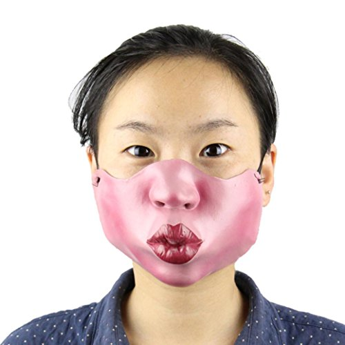 [SUPPION 2016 Latex Half Face PigHead Duzui Funny Mask, High Simulation Halloween Masquerade Party Mask(Style] (2016 Womens Halloween Costumes Diy)