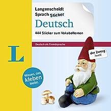 Langenscheidt SprachSticker Deutsch – 444 German Language Stickers (German Edition)