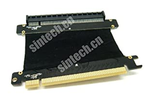PCI-E Express X16 Riser Extend Card With 5CM High Speed Flex Cable (Color: 5cms)