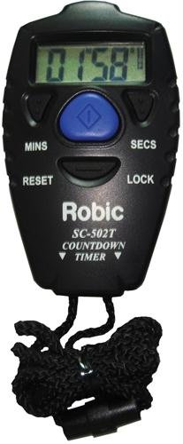 Robic SC-502-Countdown Handheld Countdown Timer with Completion Alarm by Robic