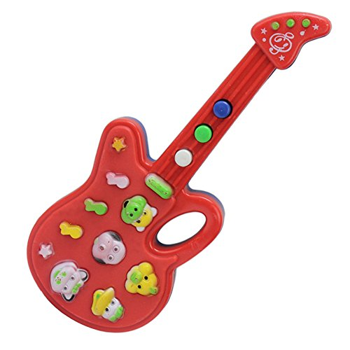 mini guitare instrument corde jouet musical cadeau pour enfant 19 7 5 2cm la caverne du jouet. Black Bedroom Furniture Sets. Home Design Ideas