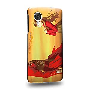 Case88 Premium Designs Fate Stay Night Rin T?saka and Archer Carcasa/Funda dura para el LG Nexus 5
