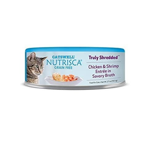 30%OFF Catswell Nutrisca Grain Free Chicken Shrimp Entree Pet Premiun Food for Cat 2.7z