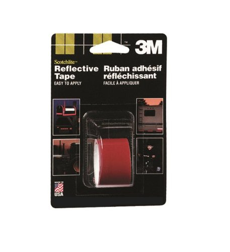 3M 03459C Scotchlite Red 2'' x 36'' Reflective Tape (Pack of 24) by 3M