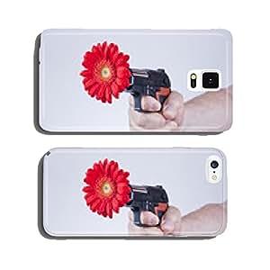 Flower gun cell phone cover case Samsung S5