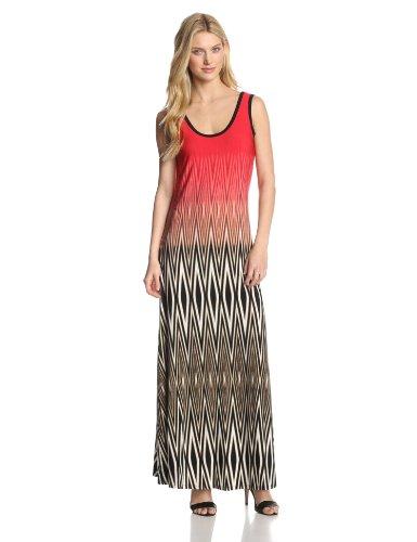 Calvin Klein Women's Printed Maxi Dress
