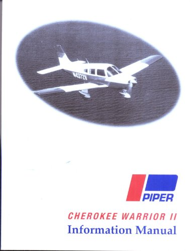 PIPER PA-28-161 CHEROKEE WARRIOR II INFORMATION MANUAL Report VB-880 761-649 (Piper Pa 28 161 Cherokee Warrior Ii)