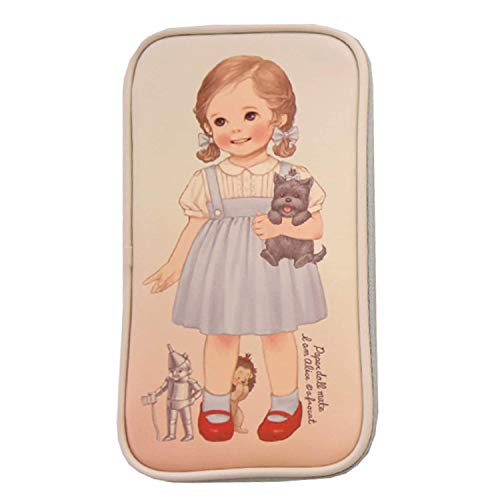 Afrocat Paper Doll Mate Multi Pen Pouch Ver 4 Women Pencil Make Up Case (Alice)