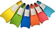 Flow Long Swim Fins for Swimming Training - Youth Sizes for Kids