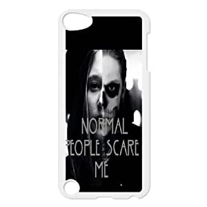 Normal people scare me Design Top Quality DIY Hard Case Cover for iPod Touch 5, Normal people scare me iPod Touch 5 Phone Case