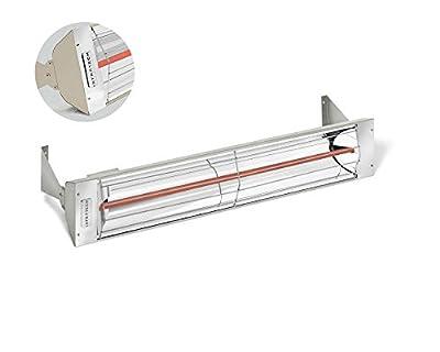 Infratech W3024 Single Element - 3000 Watt Electric Patio Heater, Choose Finish: Beige