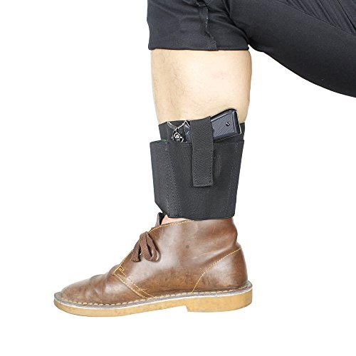 Ankle Holster Concealed Carry Hidden with 2 Mag Pouch Serve - Import It All