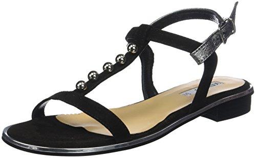 Black Back Women's Tamy Nero Piu 013 Sandals Nero Donna Sling BxqPIw5xY