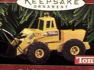 Akc Christmas Ornament (Hallmark Keepsake Tonka Mighty Front Loader 1997 Christmas Ornament)