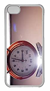 iPhone 5C Case, Personalized Custom Vintage Clock for iPhone 5C PC Clear Case