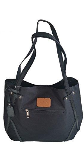 Rieker Handtasche Shopper Damentasche Tasche Henkeltasche schwarz