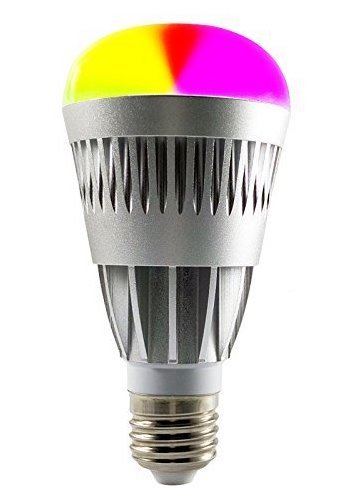 Lumiere 10Watt Smart Bluetooth LED Light Bulb - Bright 80W Equivalent - Dimmable - Multicolored - Color Changing Party Light Bulb - 2yrs Seller's Warranty