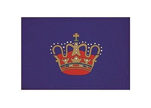 Fahne Aufb/ügler Patch 9 cm x 6 cm Neuware!!! UB Aufn/äher Fehmarn Flagge