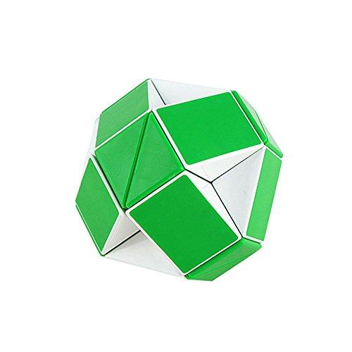 Baidecor Green Snake Magic Ruler Twist Puzzle