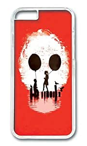 Apple Iphone 6 Case,WENJORS Adorable Bye Bye Apocalypse red ver Hard Case Protective Shell Cell Phone Cover For Apple Iphone 6 (4.7 Inch) - PC Transparent