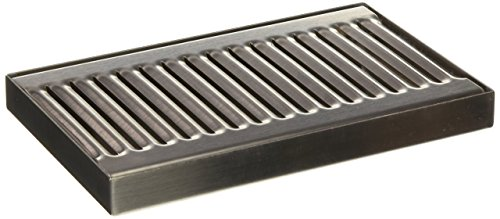ACU Precision Sheet Metal 0100-08 Surface Mount Drip Tray, No Drain, Stainless Steel, 4 Brushed Finish, 5