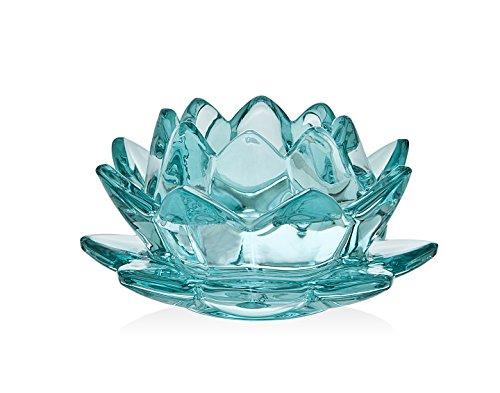 Godinger Silver Art Water Lily Votive Green