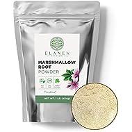 Marshmallow Root Powder 16 oz. (1 lb. Bag), Contains Organic Non-GMO Marshmallow Root in BPA-Free Packaging, Marshmallow Root Powdered, Althaea Officinalis, Marshmallow Herb, Powdered