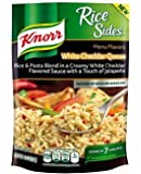 Knorr, Rice Sides, Flavor, 5.6oz Pouch (Pack of 6) (Choose Flavors Below) (Fiesta Sides White Cheddar Queso Rice)