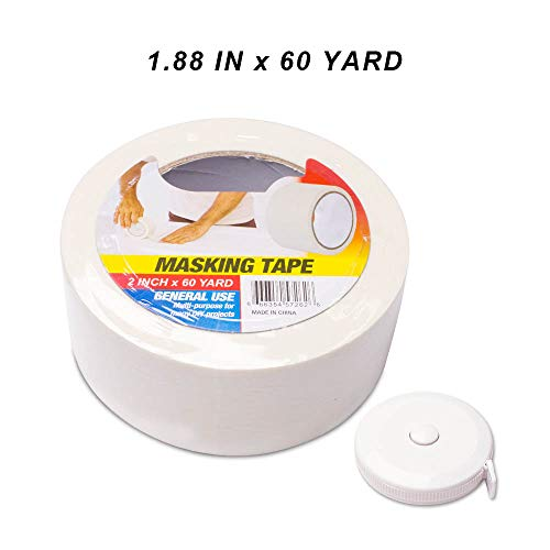 Pro Industrial Grade Masking Tape, Multi-Use, Easy Tear Tape. 1.88In X ()
