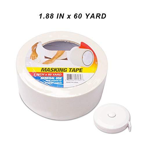 Pro Industrial Grade Masking Tape, Multi-Use, Easy Tear Tape. 1.88In X ()