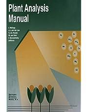 Plant Analysis Manual