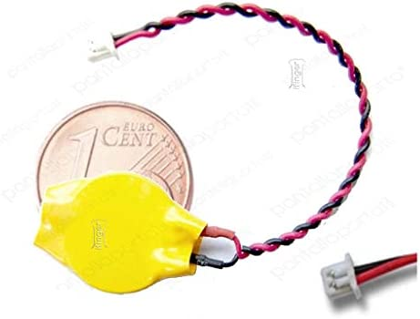 IFINGER Pila de Bios CMOS para ASUS EEE PC 1201X 1215 1215B 3V Placa Base