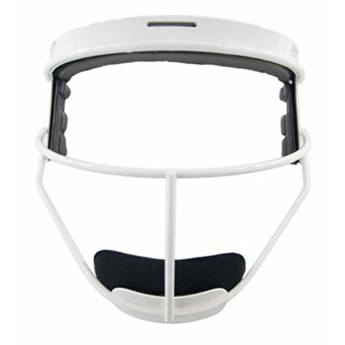 Rip It Softball Defensive Face Guard Adult White by RIP-IT