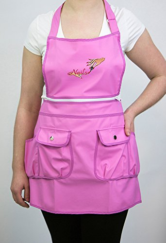 Courtney Convertible Apron 9044 Pink product image